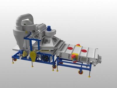 5XFZ-15BXC型復式精選機(帶脫殼機)