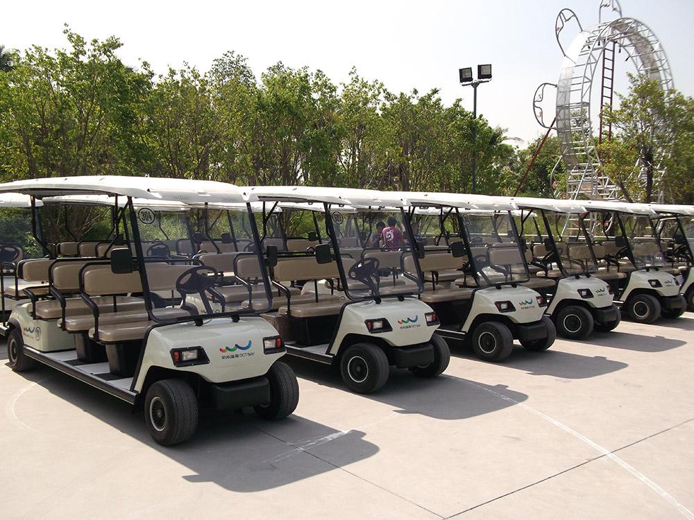 海南高爾夫觀光車