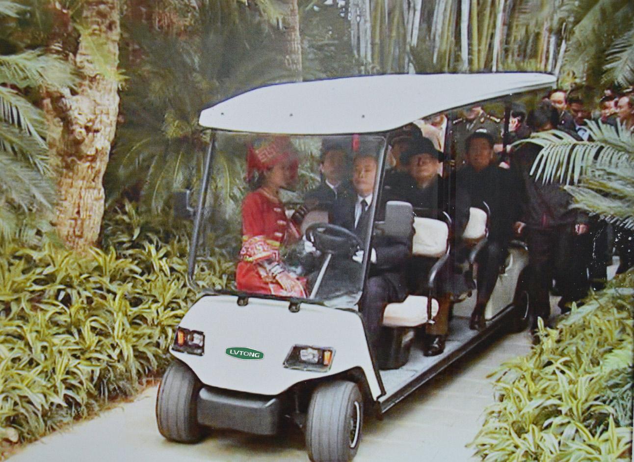 高爾夫觀光車3