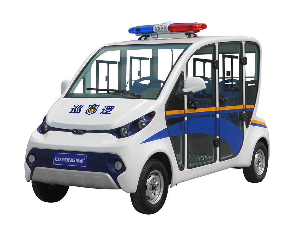 四人座封閉式電動巡邏車