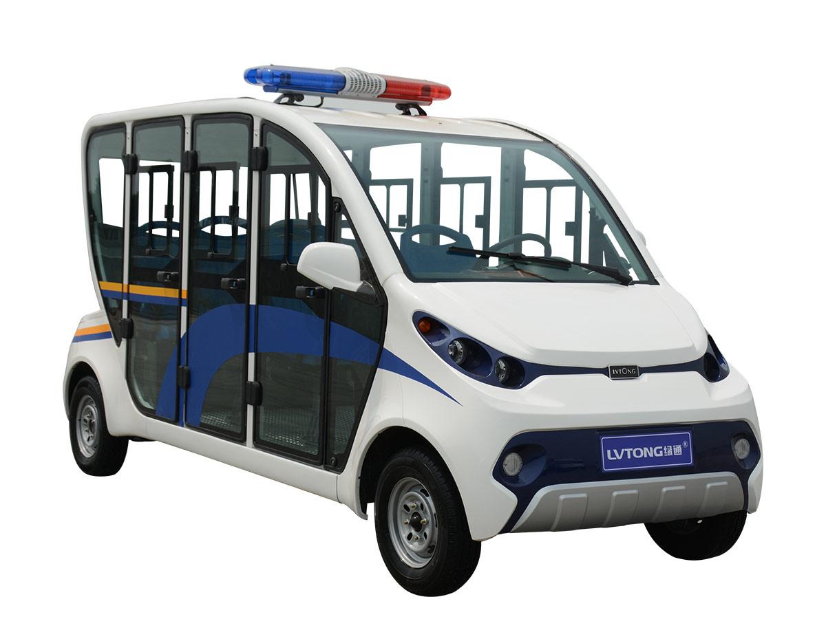 六人座封閉式電動巡邏車