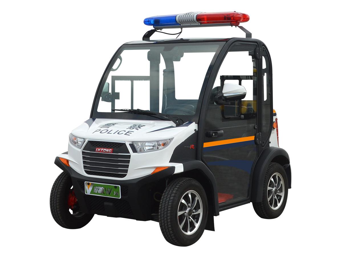 兩人座封閉式電動巡邏車