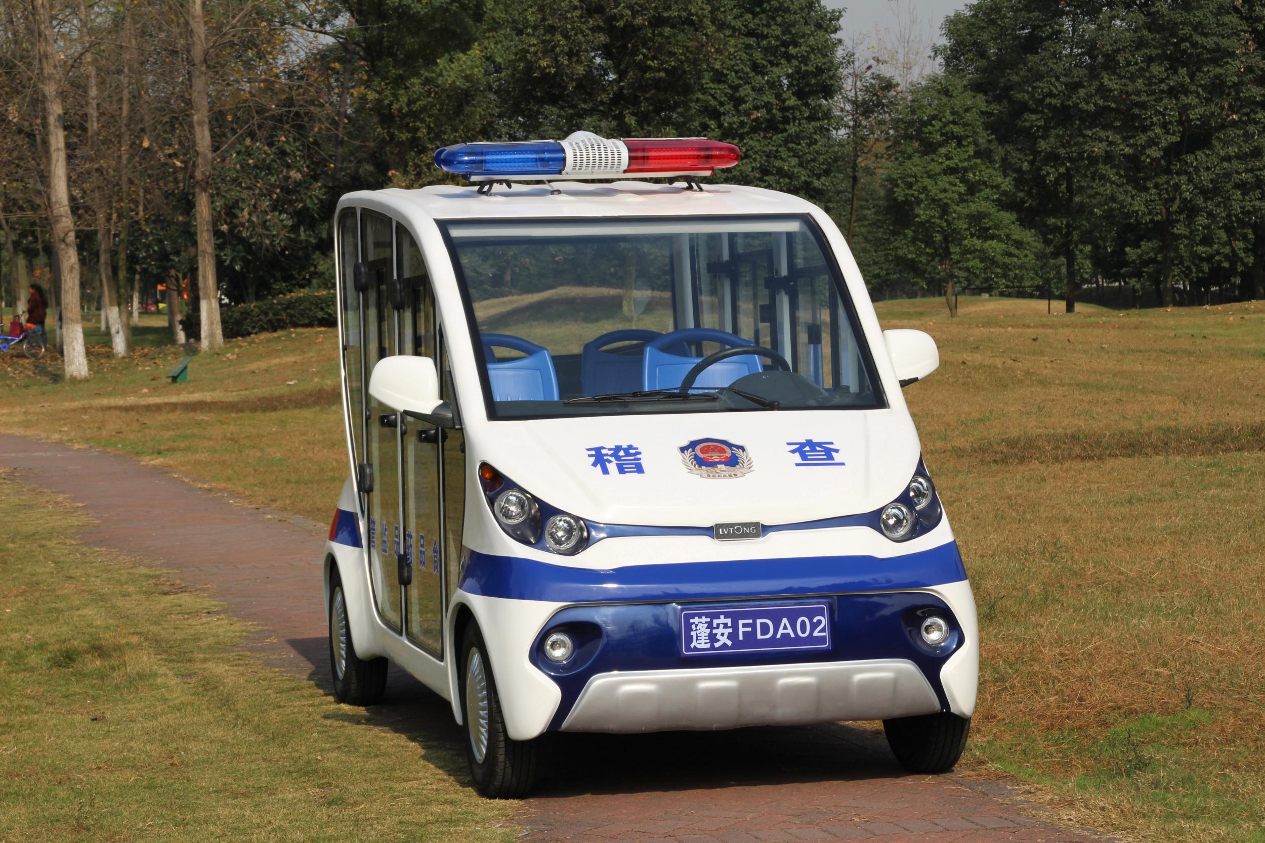 電動巡邏車——電力發電|方便執法