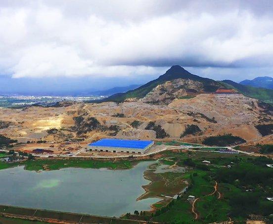 福建小光山年產2000萬噸機制砂項目