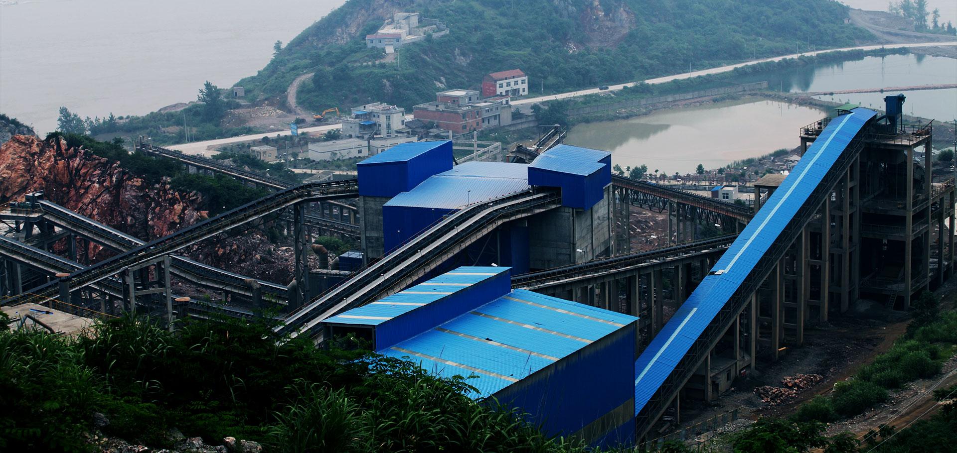 華新砂石骨料生產線
