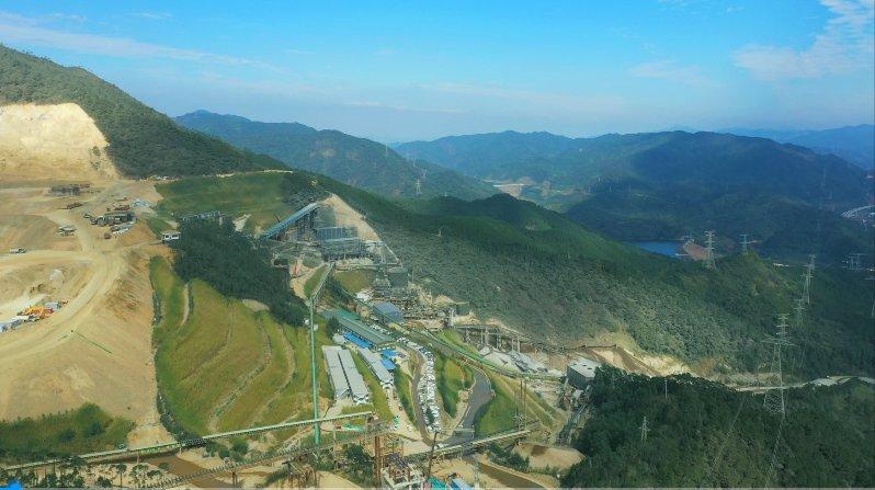 谷城礦業機制砂項目