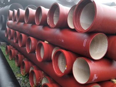 南平球墨鑄鐵供水管