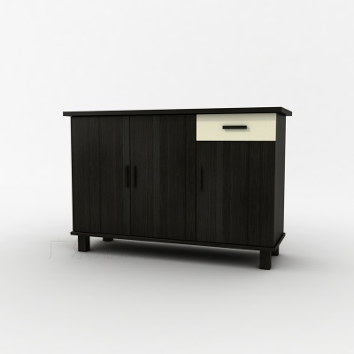 现代包房风格备餐柜