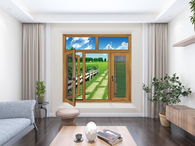 100A系列連體玻璃網窗
