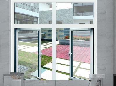 50系列斷橋平開玻璃門窗