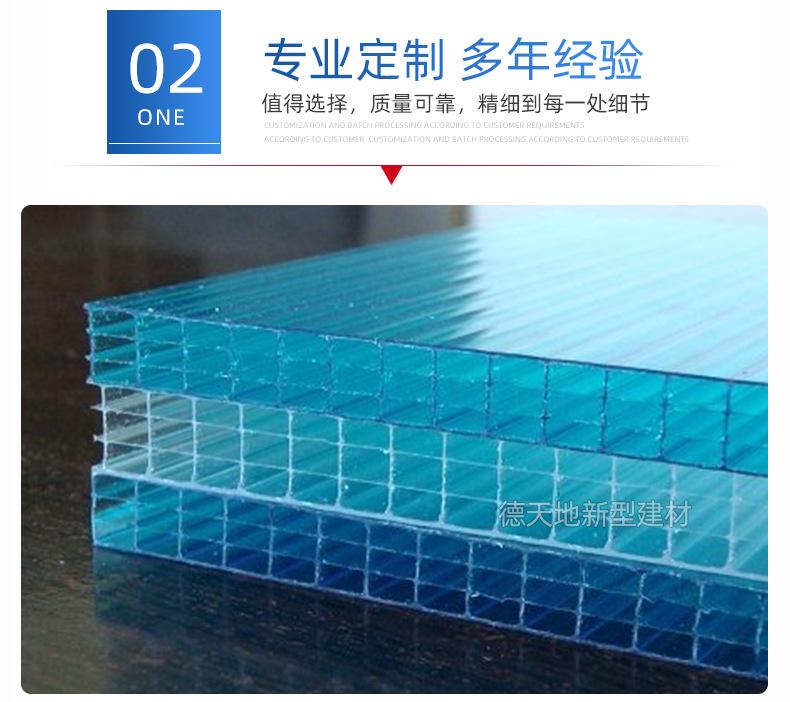 陽光板廠家:哪些方面與陽光板的透光率有關?