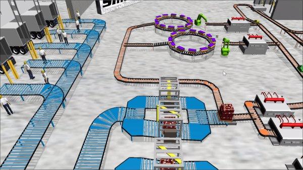 虛擬現實技術已經應用到自動化倉庫 | 基于CLASS實現的自動化倉庫模擬系統