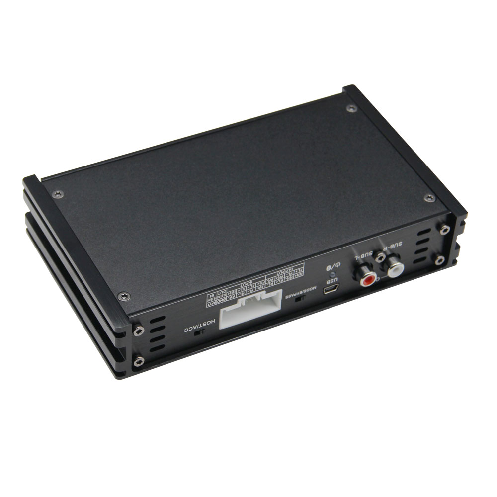 PUZU PZ-C7 4ch Amplifier 6ch DSP Car Digital signal processor