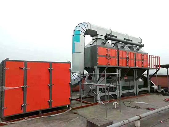 催化燃燒設備在VOCs廢氣治理中...