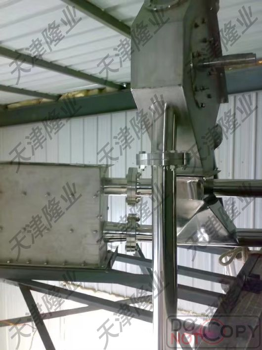安裝完成的管鏈機