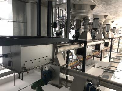 四川百裕藥業管鏈機自動投料系統