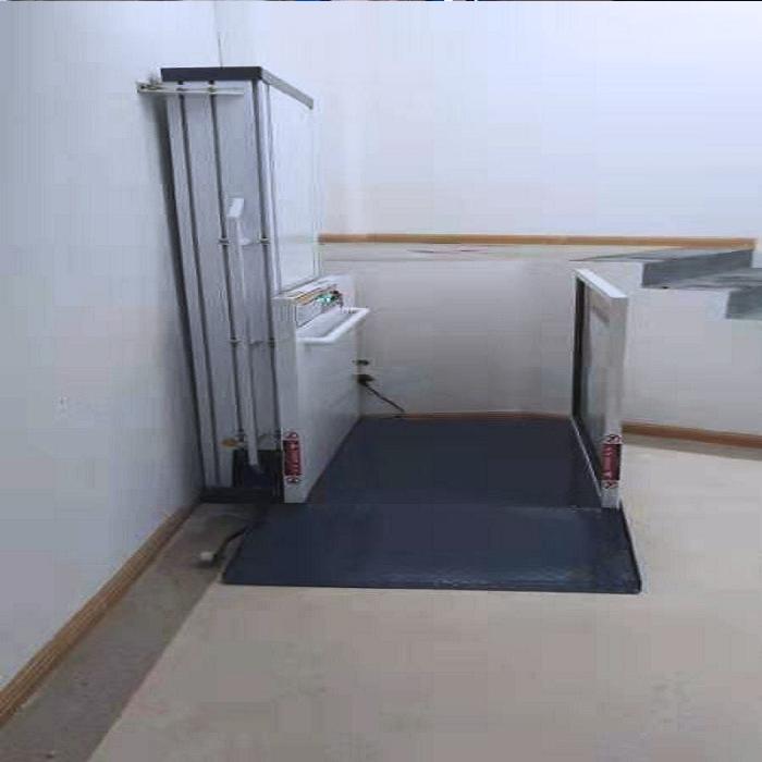Installation of barrier free elevator in nursing h