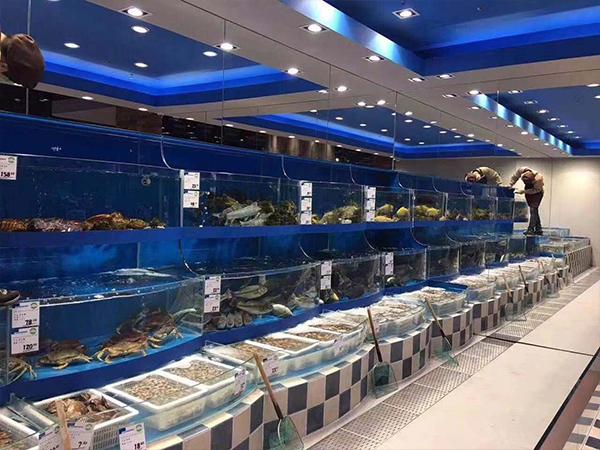 海鮮養殖池