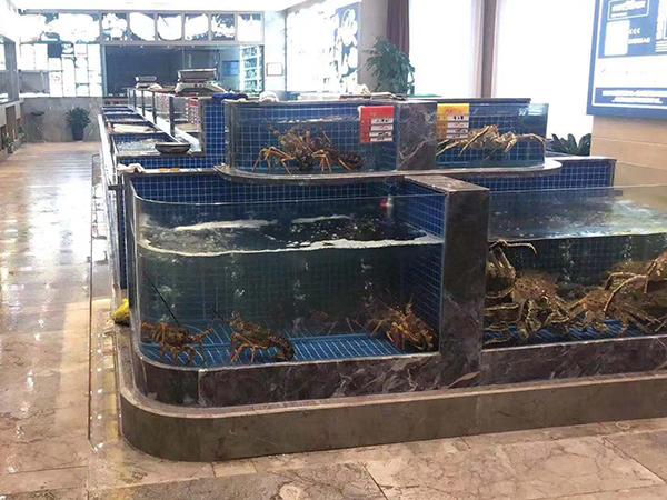 福州金源國際大飯店海鮮池完成