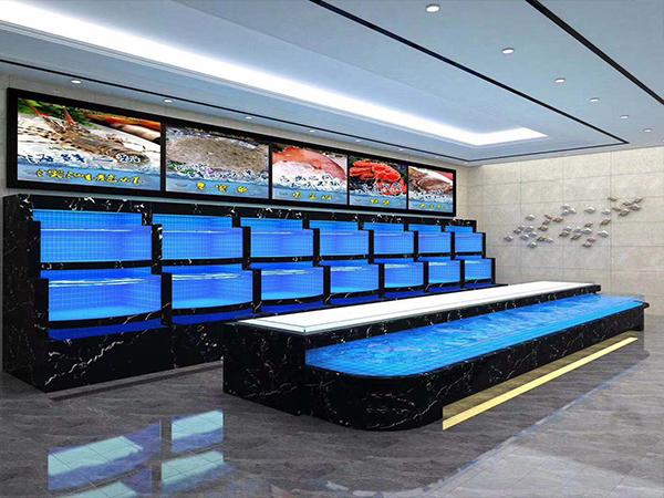溫泉賓館海鮮池施工完成