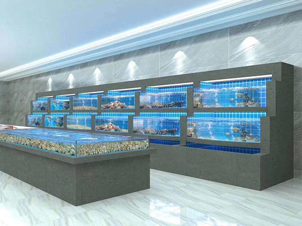 融僑國際大酒店海鮮池設計完成