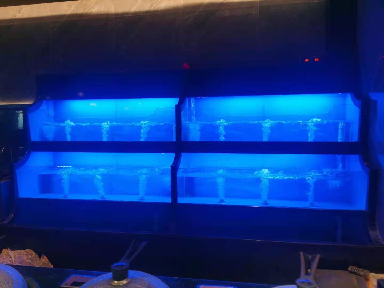 海鮮池魚缸定做