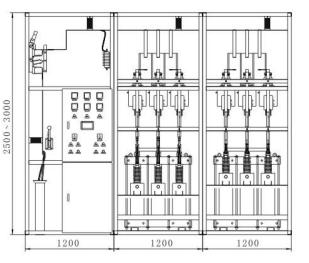 高電壓自動投切無功補償櫃