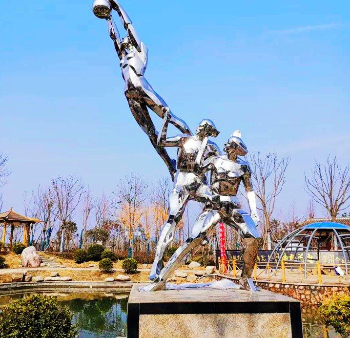 河南千美園林雕塑