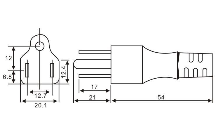 美國/加拿大標準插頭QL-110