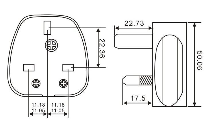 英國電源插頭QL-342
