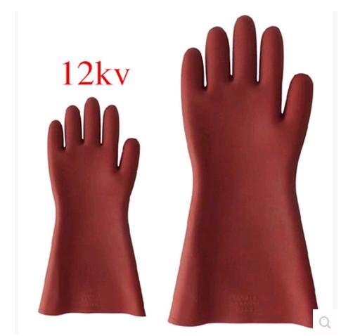 天津双安 双安牌 12KV绝缘手套 高压绝缘手套 电工手套 正品保障