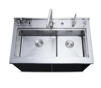 不锈钢集成水槽柜