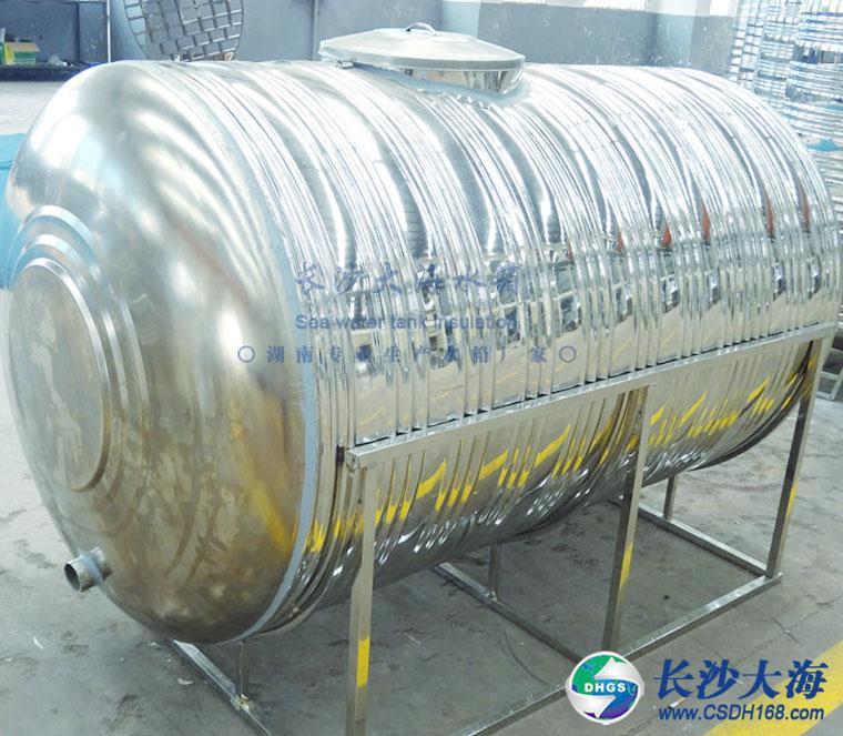 3噸臥式鋼支架冷水箱