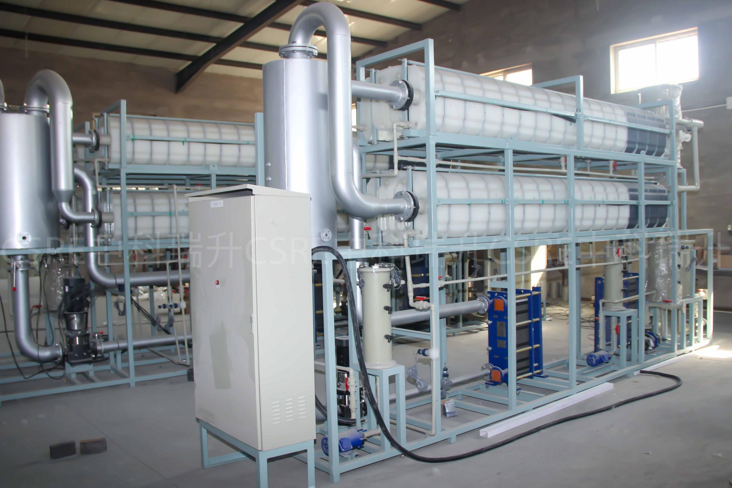 膜蒸餾技術應用:陽極氧化酸性廢水...