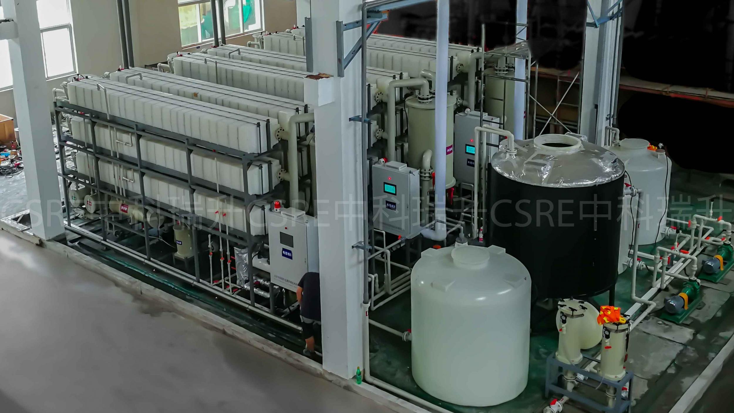 膜蒸餾技術應用:電極箔行業廢酸濃...