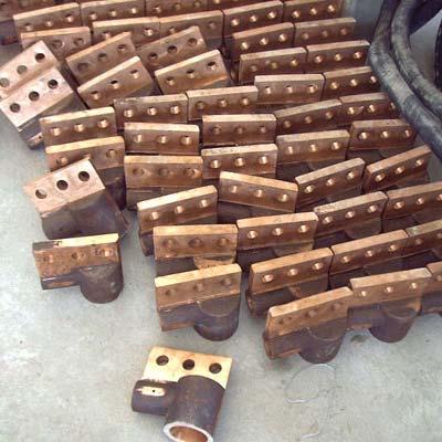 环形铜管连接板