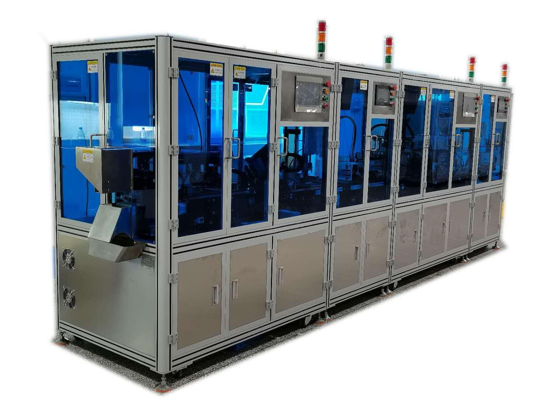 檢測卡全自動組裝生產設備機器人型
