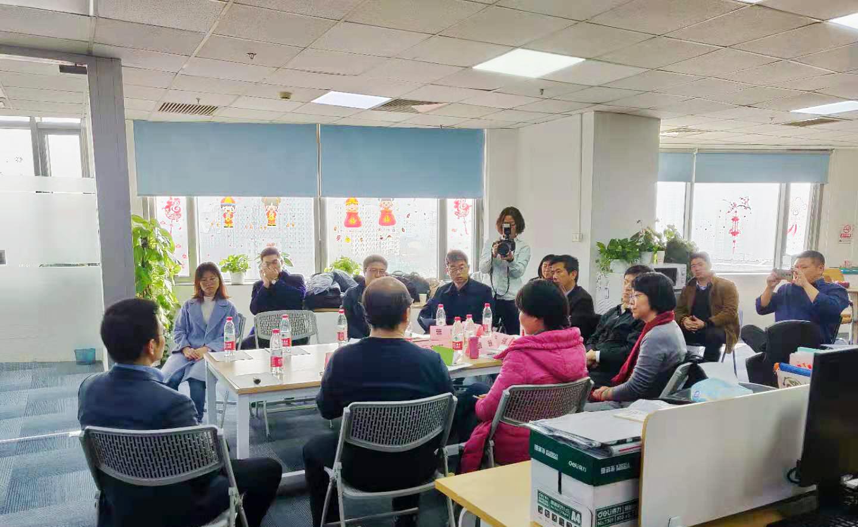 北京市科委主任许强一行调研北京医准智能科技有限公司