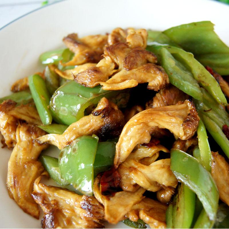 猴头菇炒辣椒