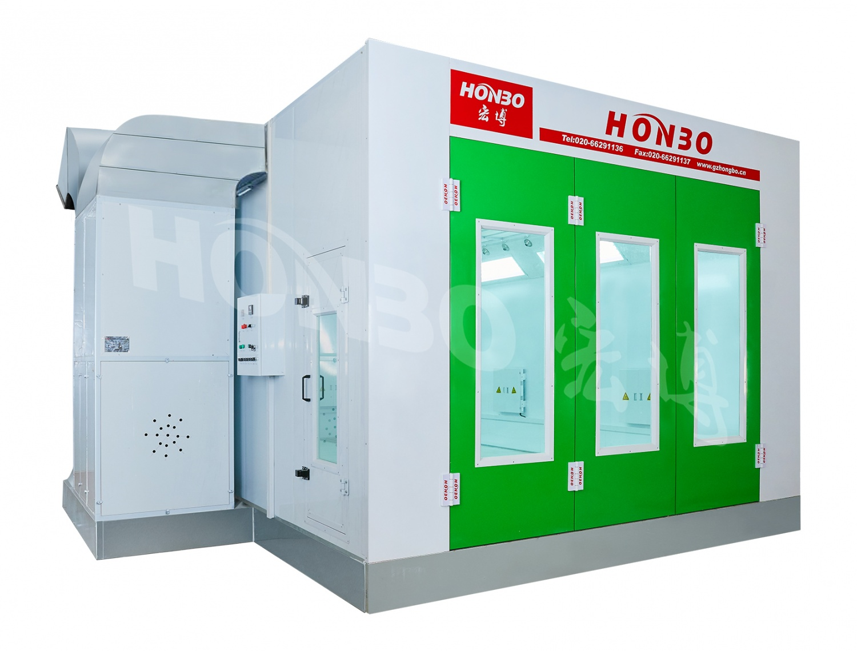 电加热喷烤漆房HB-A01