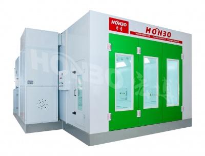 环保型红外线加热喷烤漆房HB-A02