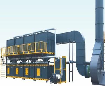 新型催化燃烧环保设施