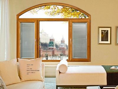 康斯坦丁系列铝包木平开门窗