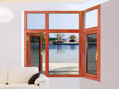 圣保罗系列断桥窗纱一开两控窗