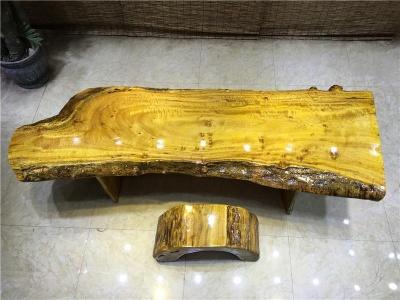 黄金樟自然边250*80*8cm