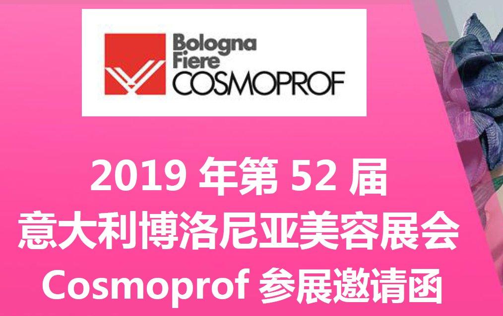 2019 年第 52 届 意大利博洛尼亚美容展会