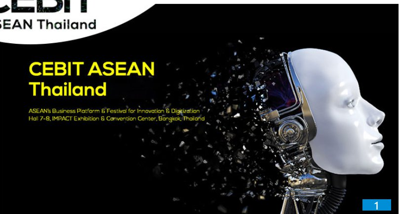 泰国东盟消费电子、信息及通信博览会CEBIT ASEAN Thailand 2019