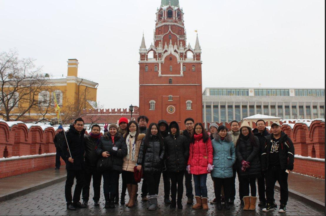 2019俄罗斯新电子展展团