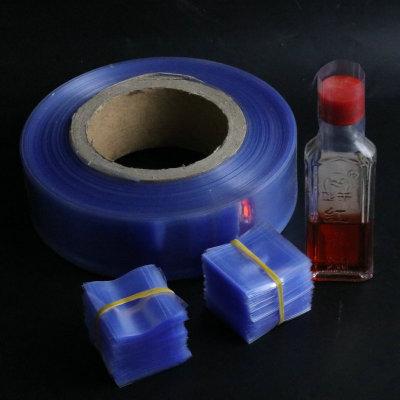 PVC蓝色瓶口热缩膜