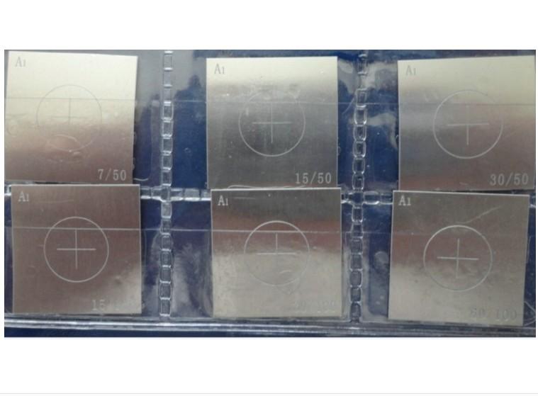 磁粉探伤试片 A1试片磁粉探伤试片 A1试片C型D型M1型磁粉试片